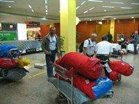 Наш багаж в ап Дубаи